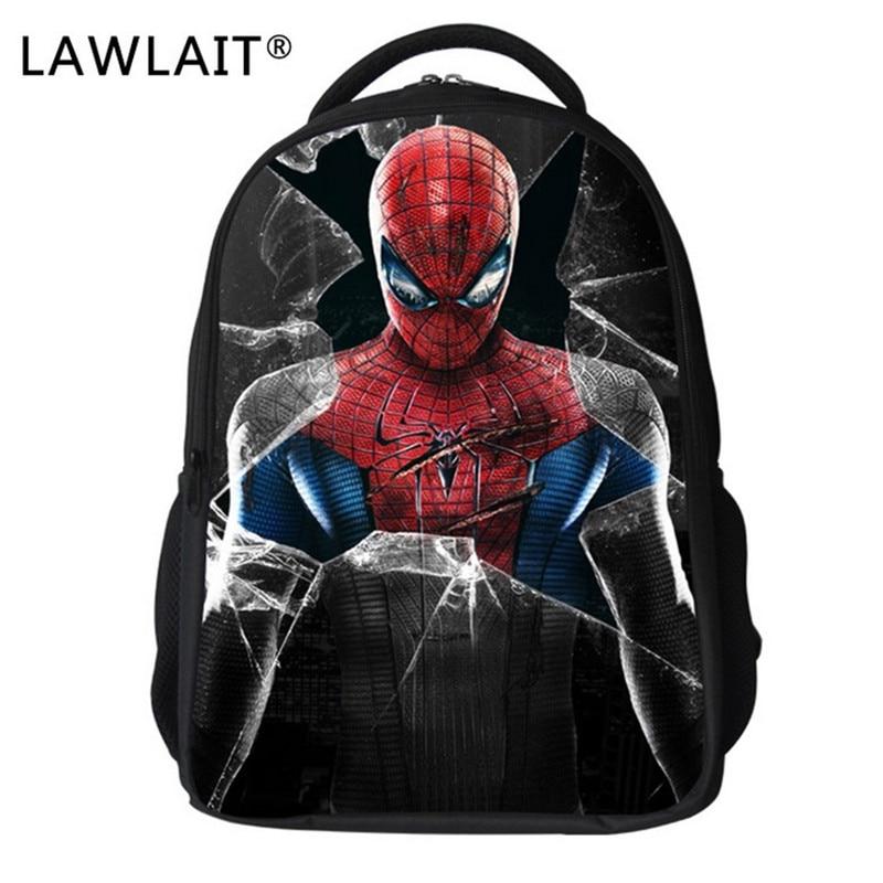 Pókember táska gyerekek iskolai táskák fiúknak Cartoon bagpack Super Hero iskolatáska gyerekek óvoda Mochila Escolar Infantil