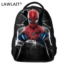 Spider Man Bag Children School Bags for Boys Cartoon Bagpack Super Hero Schoolbag Kids Kindergarten Mochila Escolar Infantil