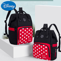Disney mother & kids fashion wrapped nappy bag shoulders street with baby travel large capacity Mummy bag waterproof portable