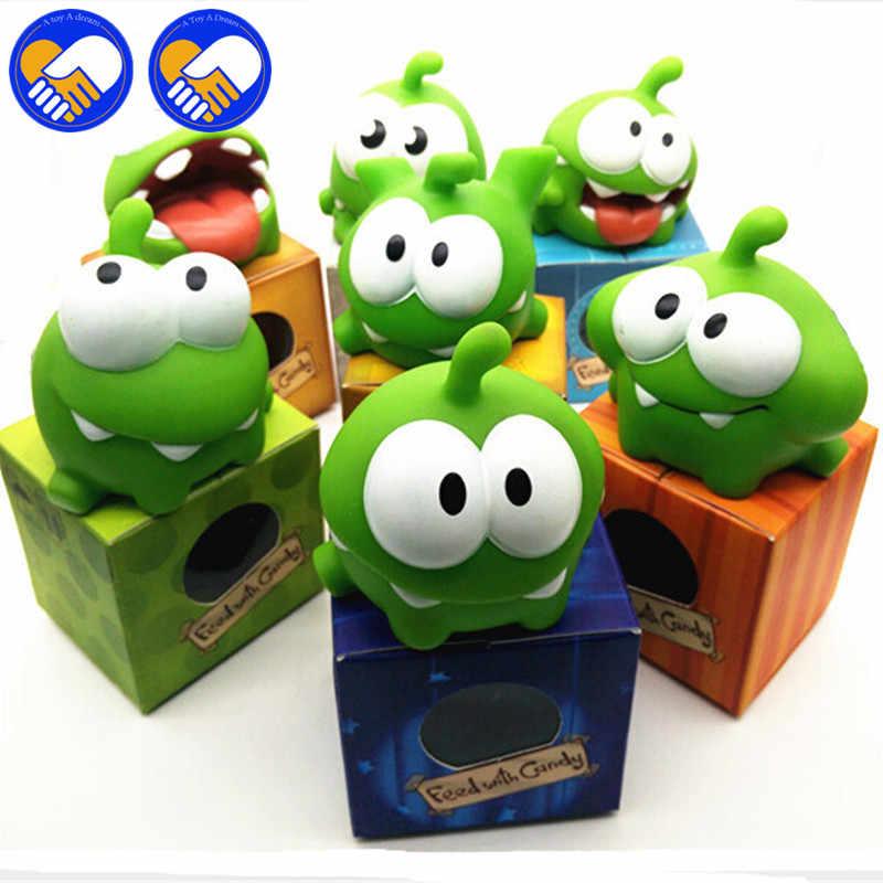 Un juguete un sueño recién llegados en Stock cuerdas cortadas juguetes para niños 7 unids/set 7 CM genuino Om nominal felpa juguete con sonido 7 estilos sin repetir