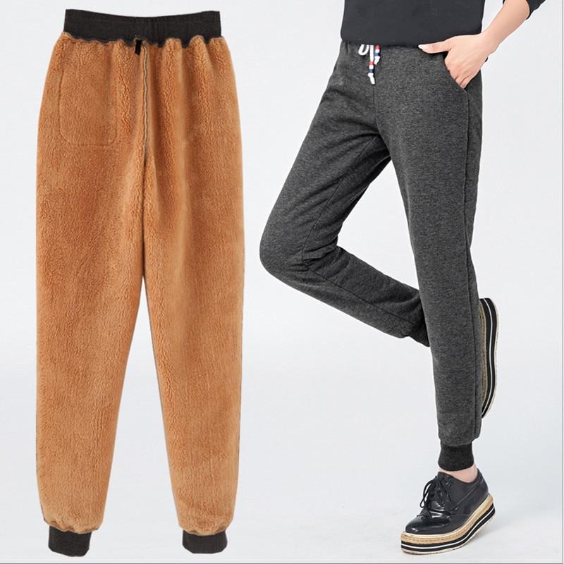 Más Haren Pantalones Invierno Mujeres 2018 Mujer Streetwear Tamaño Alta Befree Cintura Negro gris rvarAqw4