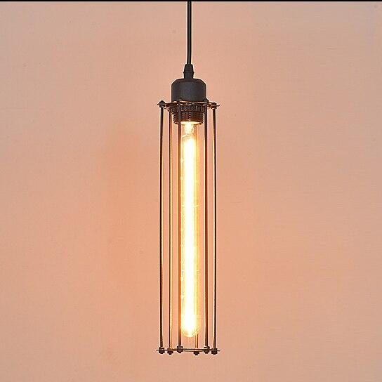 American Industrial Slim Flute Pendant Lights Fixture ...