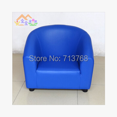 Nice Modern Furniture Good PU Leather Sofa Chair For Children/kids