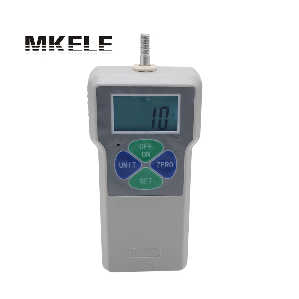 10N/1 kg/2.2Lb Financial condition Digital Protable Push Pull Force Gauge Meter Dynamometer Measuring Tools siv120b 10n
