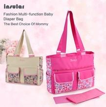 High quality diaper bags mother bag maternity mummy nappy bags mom handbag baby stroller bag