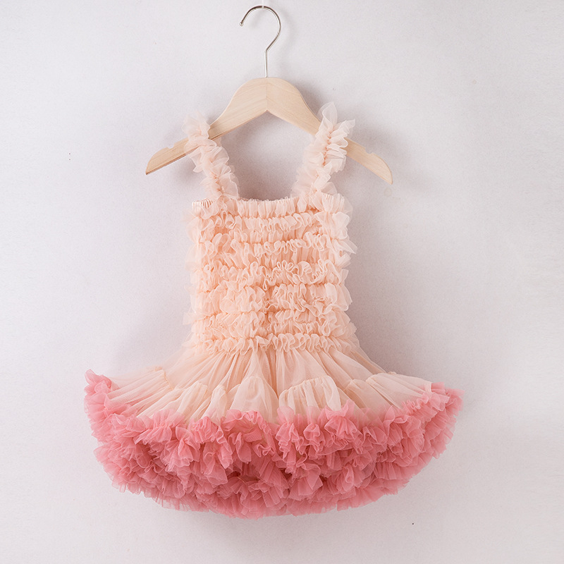 Little Gril   Flower     Girls     Dress   Mini