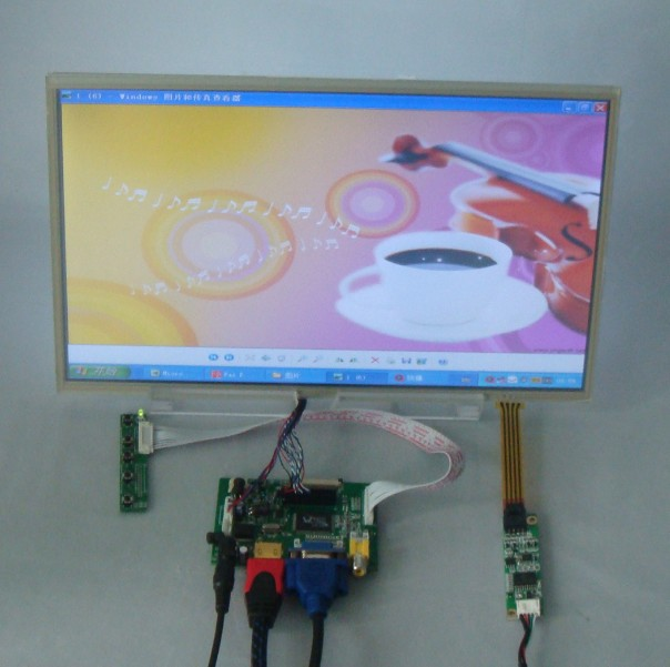 HDMI+VGA+2AV Driver board+14inch 1366*768 lcd panel with touch screen LTN140AT02 LTN140AT07 LP140WH1 BT140XW02 HT140WXB hdmi vga 2av lcd driver board vs ty2662 v1 71280 800 n070icg ld1 ld4 touch panel