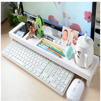 Keyboard shelf Storage Rack Shelf multi function desktop office desktop phone keypad aircraft debris
