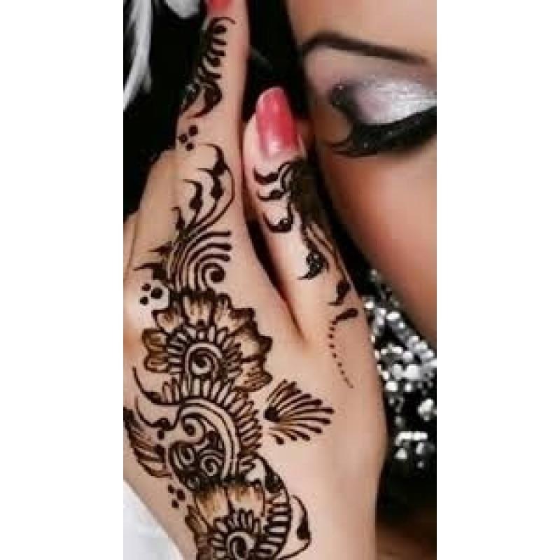 Mehndi Black Henna Tattoo Paste Cone Temporary Flash Tattoo Body Art Henna Tatoo cream A6 6