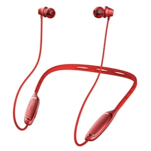 W1 Neckband Wireless Earphones Bluetooth V4.1 Stereo Headset with Mic Handsfree Volume Control