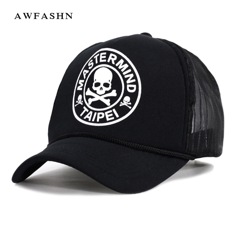 high quality Casual Unisex Skull mesh Baseball Cap Summer Casquette Snapback Gorras Planas Baseball Cap Men Fitted Hats Caps 2018 pink black cap solid color baseball snapback caps suede casquette hats fitted casual gorras hip hop dad hats women unisex