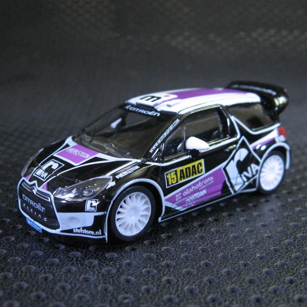 N Orev 1:64 Citroen DS3 WRC 3 Super Car Boutique Alloy Car Toys For Children Kids Toys Model  Freeshipping