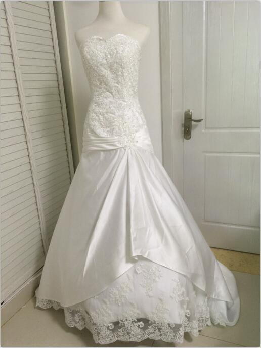 Free shipping best selling charming lace wedding dresses for Sell your wedding dress for free