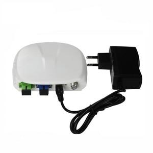 Image 2 - Fiber Optical FTTH optical receiver SC/APC SC/UPC with WDM and AGC Mini Node Indoor Optical Receiver with white plastic case
