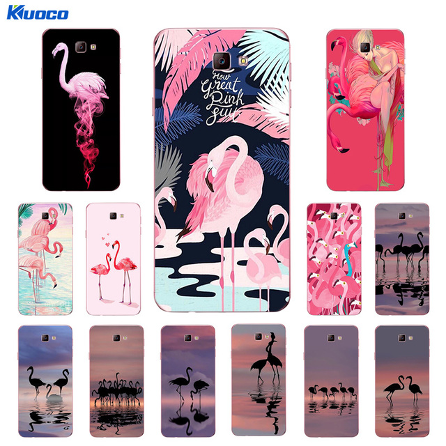 new arrival d3a6a 9bd0a US $2.08 |Custom Cases For Samsung Galaxy J5 Prime / J7 Prime for J2 Prime  Shell For J3 2016 2017 J3109 Soft TPU Flamingo Printing Coque-in Fitted ...