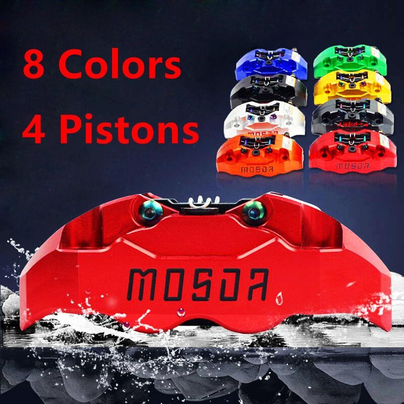 Мотоцикл универсальный модификация четырех поршневые суппорта Mosda для Ямаха БВС РСЗ ЧПУ задние тормозные части мотоцикла 8 цветов