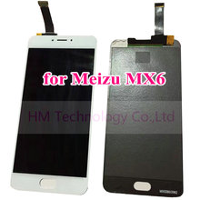 White LCD+TP for Meizu MX6 MX 6 5.5″ LCD Display+Touch Screen Glass Digitizer Panel Assembly Replace Parts Free Shipping+Tools