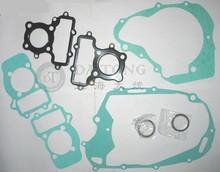 Full set Twin Engine repair Gasket For Yamaha XV125cc Motorcycle Sealing Case Gasket Kit suzuki atv Moped Part
