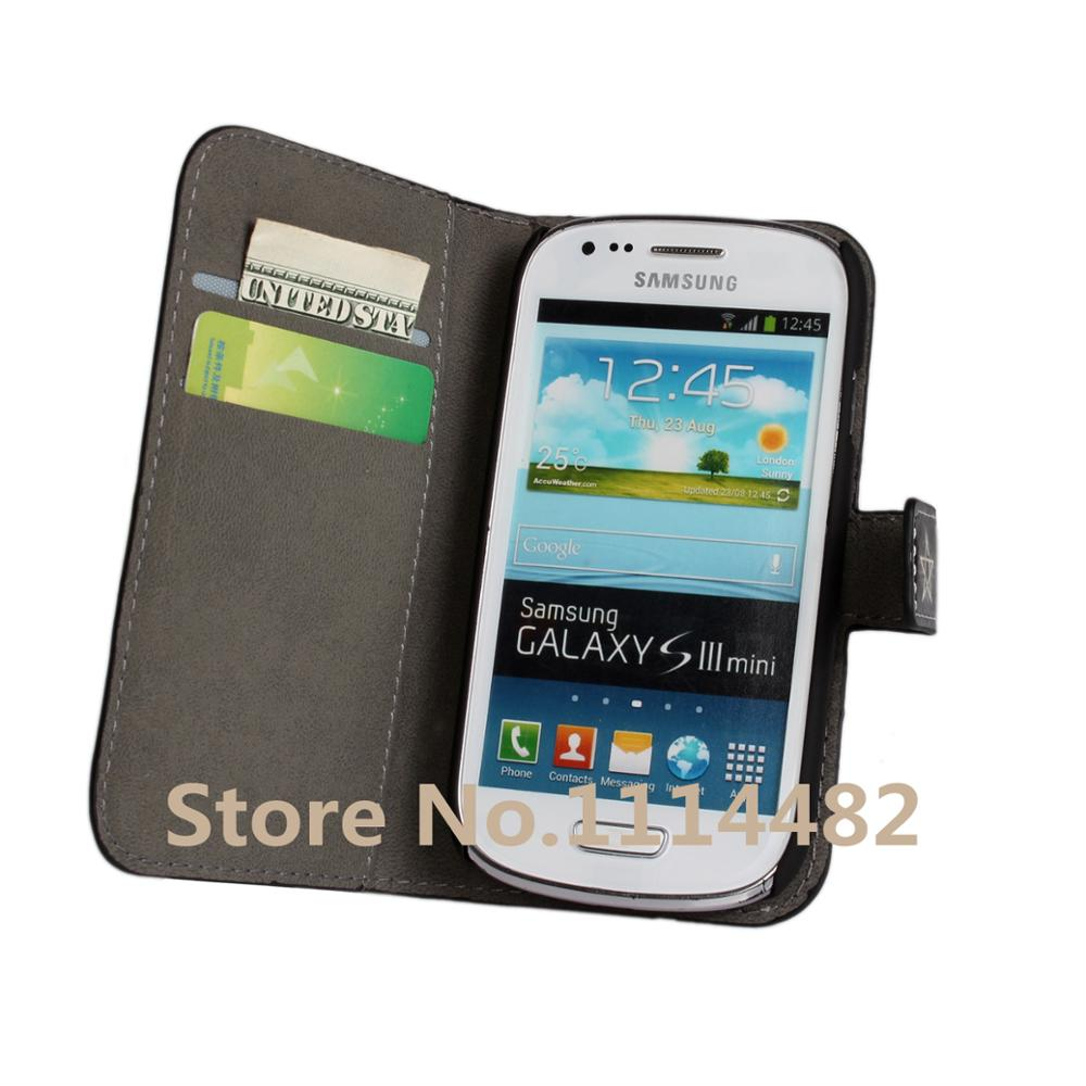 0a421aaa17c S3 Mini Phone Case Cover Cool Magic Book Wallet Leather Flip Purse Mobile  Shell Fundas Cover For Samsung Galaxy S3 Mini i8190-in Wallet Cases from ...