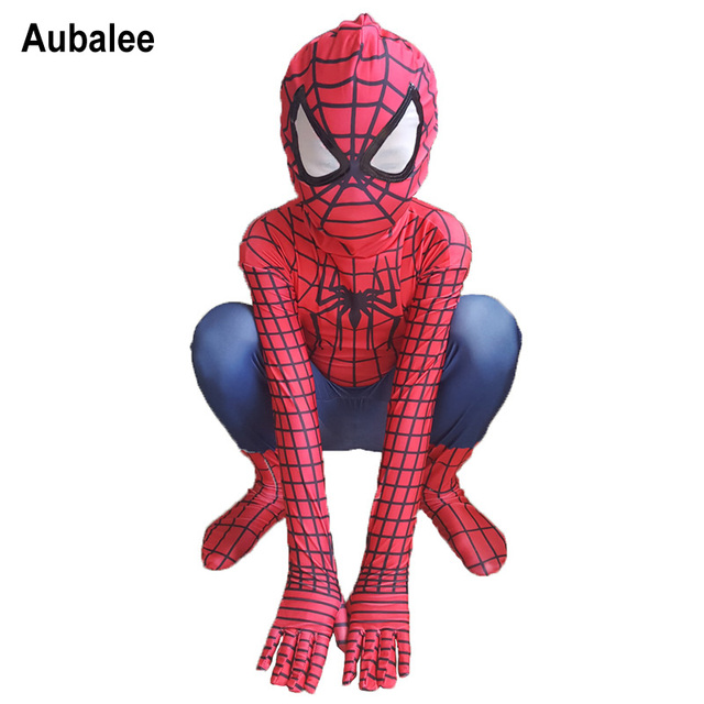 Amazing Spiderman Costume For Kids Boys 2018 New Spider-Man Cosplay Zentai Suit Children Superhero  sc 1 st  AliExpress.com & Amazing Spiderman Costume For Kids Boys 2018 New Spider Man Cosplay ...