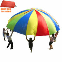 Kids Parachute, Magicfly 13Feet/4 meters Parachute Toys with 16 Handles for Kids Play, Kids Games, Outdoor Games, Outdoor Toys