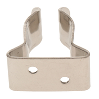 1 stainless steel 1 Pcs Spring Boat Hook Holder Clip 304 Stainless Steel For Boat Yacht Canoe Rigging Rope Chain Leash Cable Etc 5/8?-1? Tube (2)