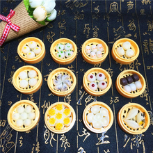 Chinese style three-dimensional characteristics of creative features snacks dumplings Fridge