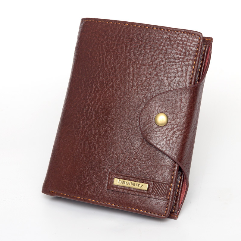 цена Vintage Men Short Wallet Hasp Purses Male PU Leather Billfold Money Coin Pocket Passport Cover Case Card Holder Clutch Bag Clips онлайн в 2017 году