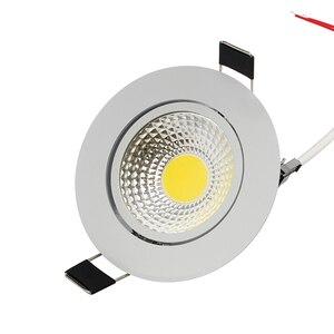Image 5 - Сверхъяркий Светодиодный точечный светильник с регулируемой яркостью, точечный светильник с COB матрицей, 5 Вт, 7 Вт, 9 Вт, 12 Вт, Встраиваемый светодиодный точечный светильник, лампочки для внутреннего освещения