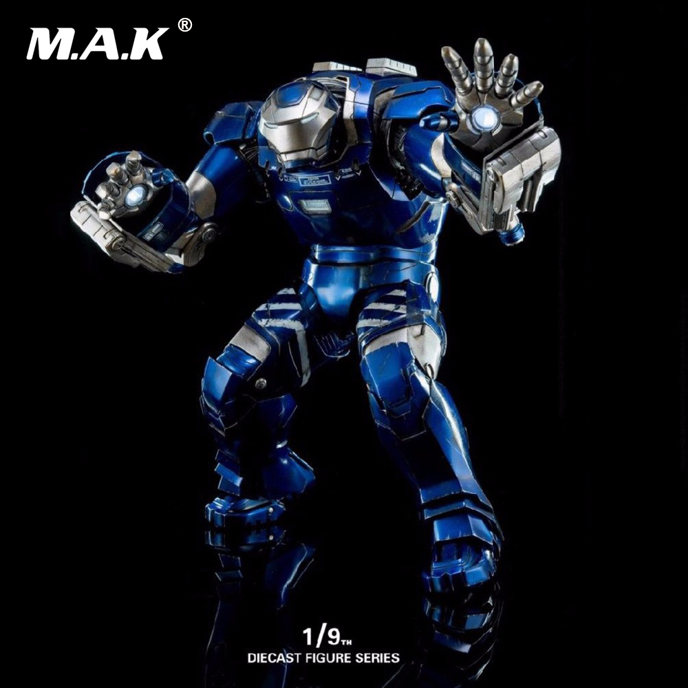 High Quality King Arts DFS030 1/9 Iron Man 3 MK38 Diecast Figure Series Action Figure iron king ik308