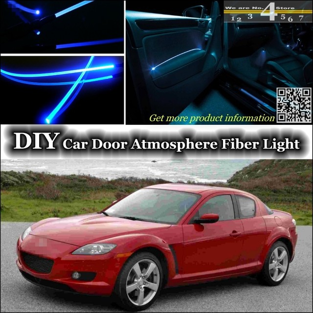 pour mazda rx 8 rx8 rx 8 intrieur lumire ambiante tuning atmosphre fiber optique bande