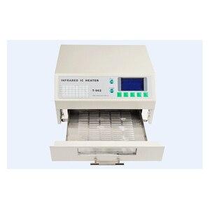 Image 3 - Puhui système de reflux à infrarouge 110 220V/T 962 V, four de chauffage IC, Station de réparation BGA, T962