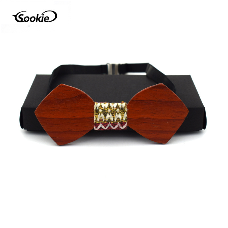 Wood bow ties for men red wedding dress party wooden fashion christmas gift kelebek cravate pour homme stropdas pajarita hombre