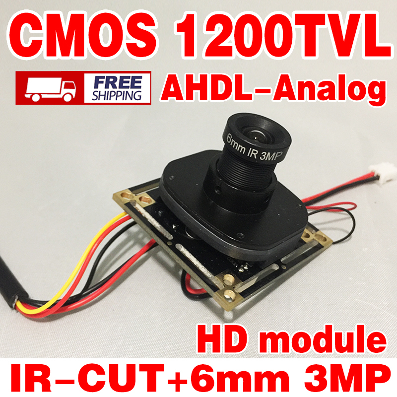 HD Monitoring circuit board CMOS 12/8/6mm optiona 3.0mp lens ir-cut Include cable camera chip module surveillance products free shipping 5mp cmos ov5640 usb camera module with 2 1 2 8 3 6 6 8 12 16mm lens