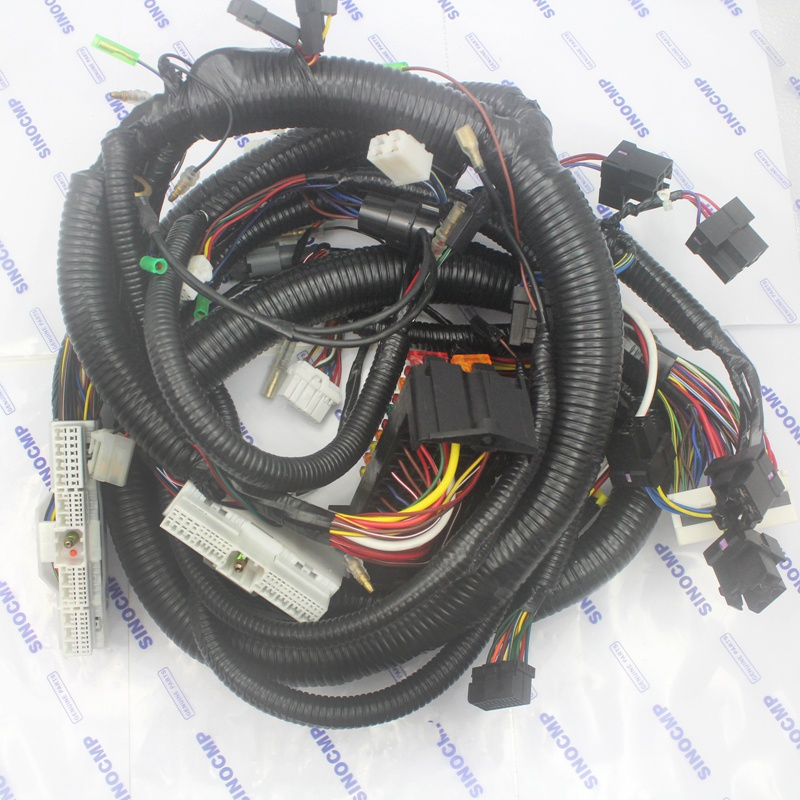 EX200-5 EX120-5 Internal Wiring Harness 0002023 for Hitachi Excavator Wire Cable to Connect the Controller and MonitorEX200-5 EX120-5 Internal Wiring Harness 0002023 for Hitachi Excavator Wire Cable to Connect the Controller and Monitor