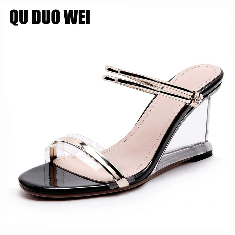crystal heels open toe women sandals 2018 new sheepskin ladies summer shoes black white wedges high heels shoes casual pumps msfair round toe wedges women sandals fashion crystal high heels casual women sandal shoes 2018 summer open toed buckle sandals