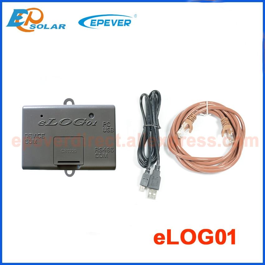 Elog01 записывает рабочие данные солнечной системы, соответствующие солнечному контроллеру, подключается к usb-кабелю MT50 и PC - Цвет: elog01
