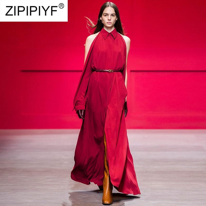 Robe A Manches À Longues Turn Robes Femme down De Femmes ligne Parti Rouge Printemps K658 Chemise Col 2019 Dame Moulante Élégant xYZFw7wq