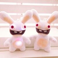 Thỏ lông nhung con búp bê đồ chơi vải thỏ con búp bê sự hát rabbit dolls sinh nhật cô gái món quà