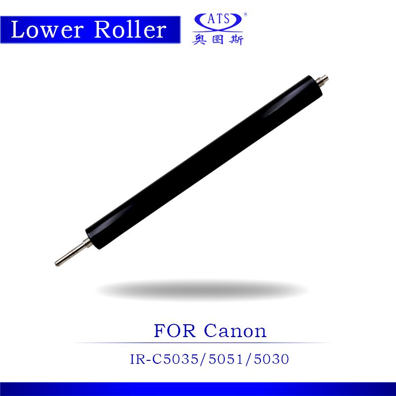 1PCS Lower Fuser Roller For IR C5035 C5051 C5030 Copier Parts IRC5035 IRC5051 IRC5030 For Photocopy Machine Pressure Roller photocopy machine pressure roller for canon irc3200 irc3220 irc3100 lower roller fuser roller copier parts 3200 3220 3100