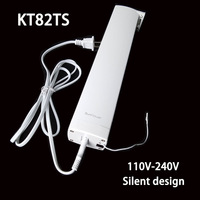 Original Ewelink Dooya KT82TS Electrical Curtain Motor Remote Control 110 240V Silent Design Smart Home Electric