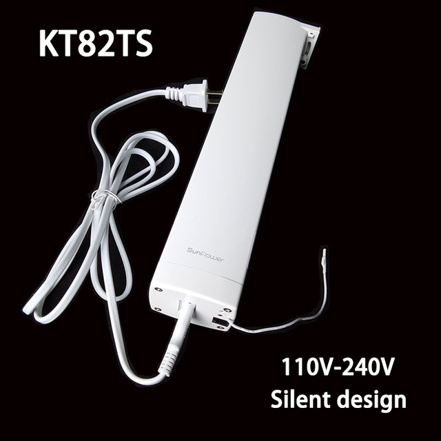 Original Ewelink Dooya KT82TS Electrical Curtain Motor Remote Control 110-240V Silent Design Smart Home Electric Curtain