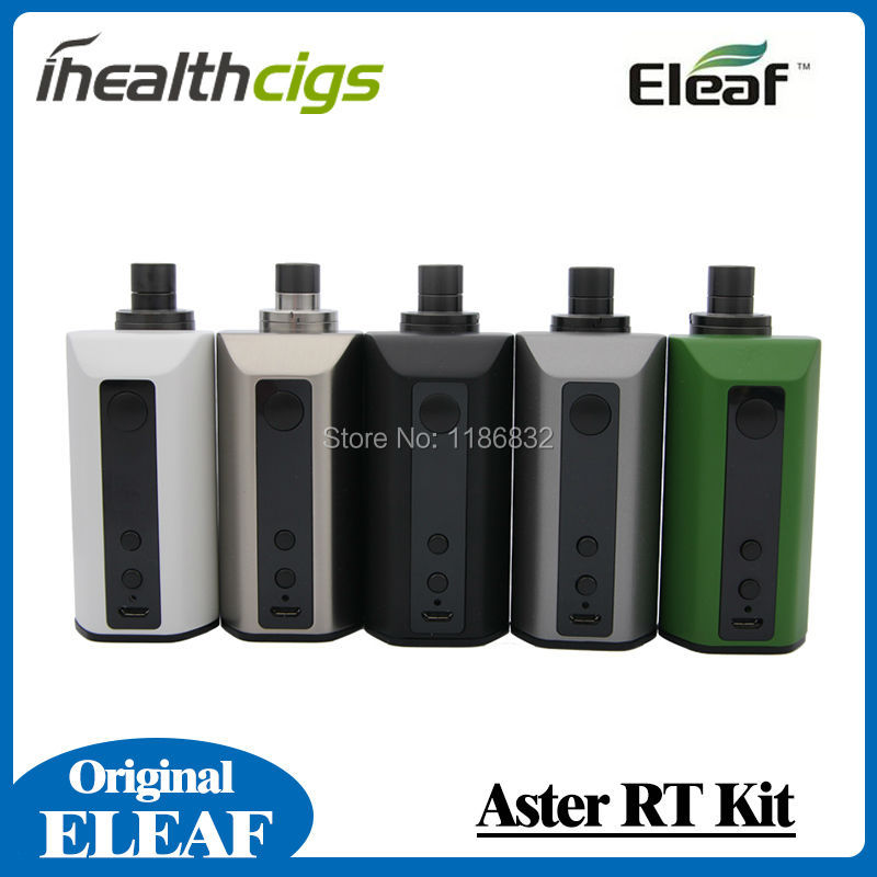 100% Original Eleaf ASTER RT with MELO RT 22 kit 100W with 4400mAh Battery 3.8ml Melo RT 22 Tank Aster RT ecigarette kit