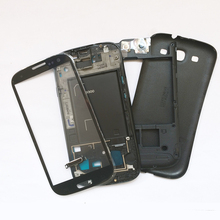 Original Replacement Chassis For Sumsung Galaxy S3 i9300 Full Housing Case Cover & Glass lens Replacement Free Shipping