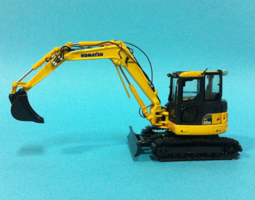 Rare! Komatsu 1/50 Scale DieCast Model PC88MR Hydraulic Excavator first gear 50 3246 komatsu d65px 17 bulldozer w hitch 1 50 nib toy