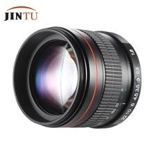 JINTU 85mm F1.8 Super Manual Focus Portrait Lens for Canon EOS T5i T4i T3i T2i T1i XTi XS 550D 60D 50D 40D 20D 30D DSLR Cameras