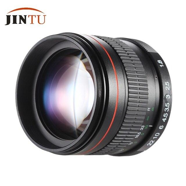Jintu 85mm f1.8 Super lente de enfoque manual para Canon EOS t5i t4i ...