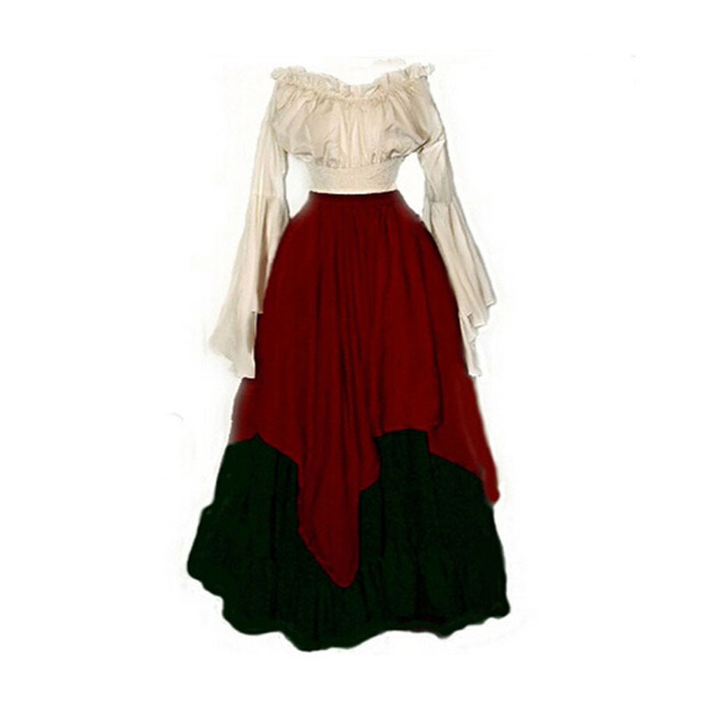 Georgian Victorian Gothic Period Cosplay Reenactment Theatre Costumes Clothing