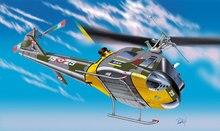 Italeri 1201 AB 204 B UH 1 F Helicopter 1 72 Plastic Kit Aircraft