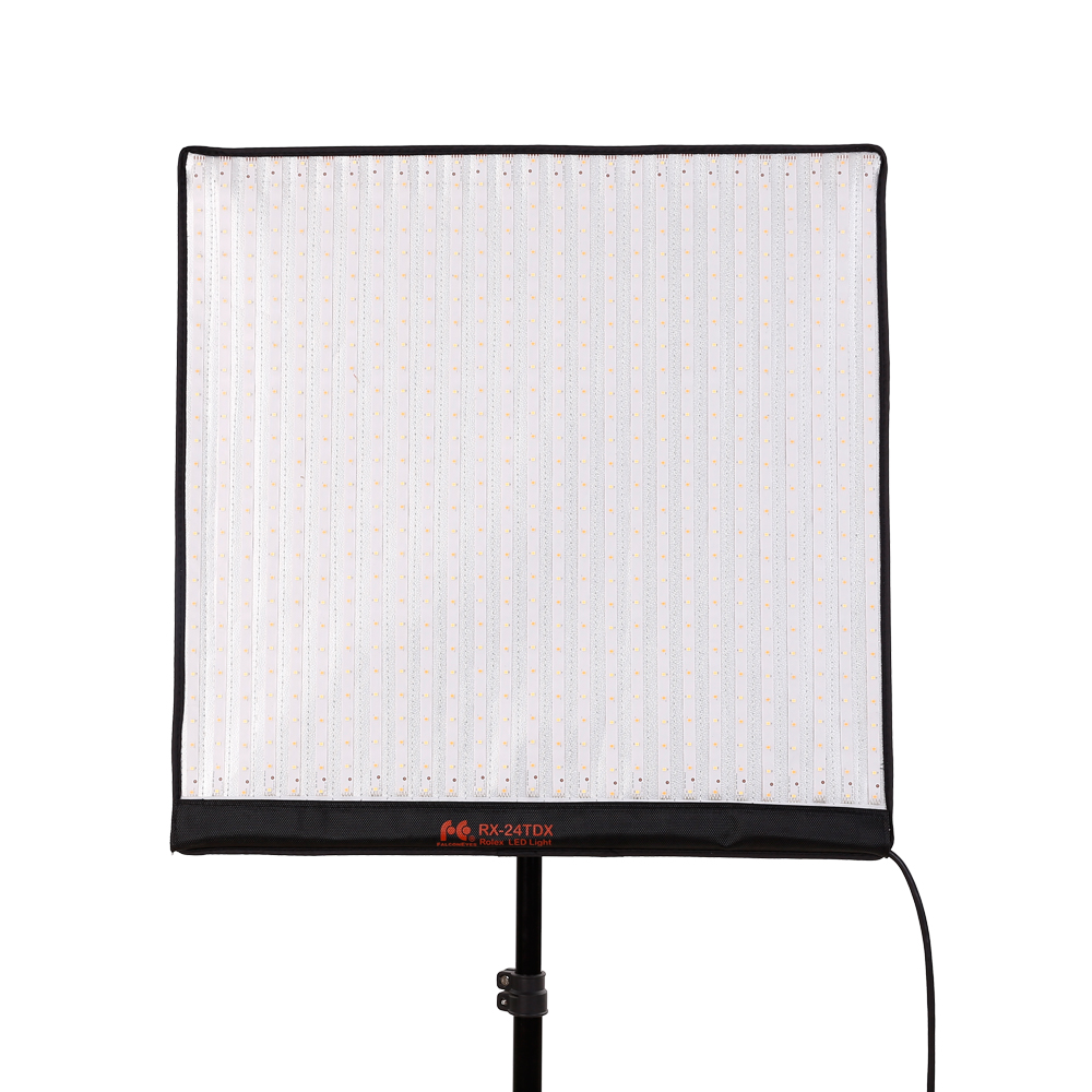 FalconEye 150W RX-24TDX Film Video Photo Light Portable LED Photo Light Broadcast Flexible LED Photo Light